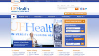 ufhealth.org web design
