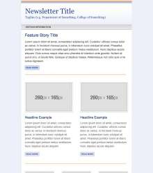 Email Newsletter Preview