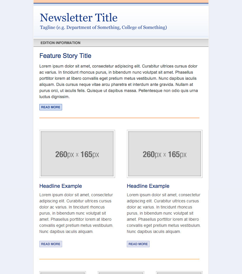 campaign monitor newsletter templates web services uf academic