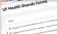 UF Health Shands Forms